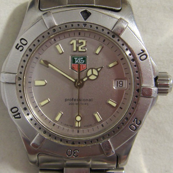 (ww0656)Wristwatch Tag Heuer Series 2000 Junior.